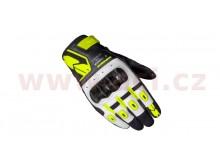 rukavice G-CARBON, SPIDI (bílé/černé/žluté fluo)