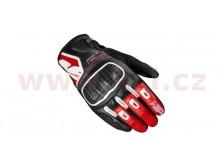 rukavice G-WARRIOR, SPIDI (černé/červené/bílé)