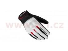 rukavice FLASH CE, SPIDI (černé/bílé/červené)