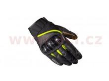 rukavice REBEL, SPIDI (černé/pískové/žluté fluo)