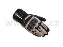 rukavice TX-1, SPIDI (černá/béžová)