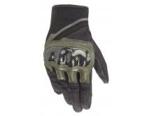 rukavice CHROME 2021, ALPINESTARS (zelená/černá)
