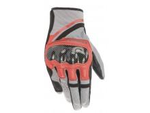 rukavice CHROME 2021, ALPINESTARS (šedá/černá/červená fluo)
