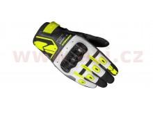 rukavice G-CARBON LADY, SPIDI, dámské (černá/bílá/žlutá fluo)