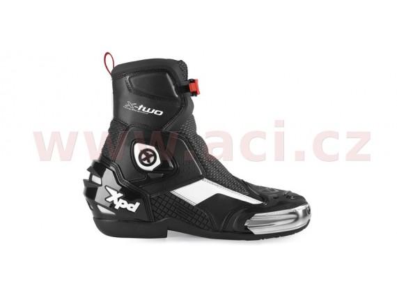 boty X-TWO, XPD (černé/bílé)