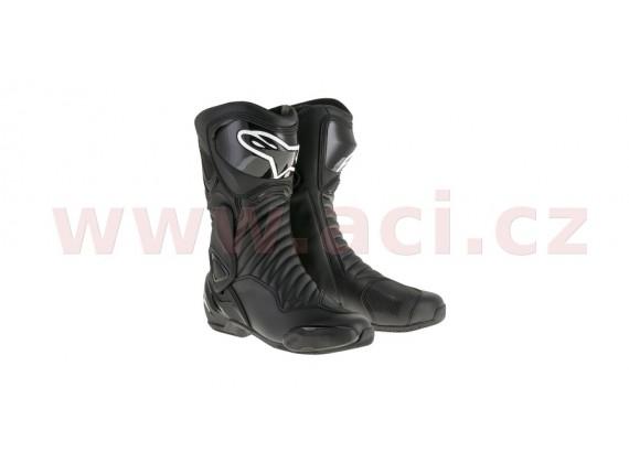 boty S-MX 6, ALPINESTARS (černé)