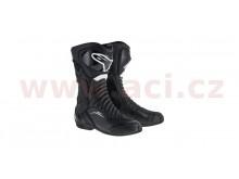 boty S-MX 6 Drystar, ALPINESTARS (černé)