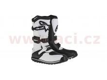 boty TECH TRIAL, ALPINESTARS (bílá/černá)