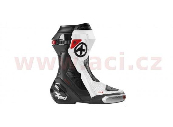 boty XP9-R, XPD (černé/bílé, perforované)