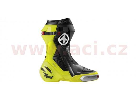boty XP9-R, XPD (černé/žluté fluo)