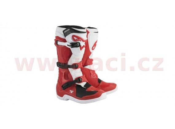 boty TECH 3 2020, ALPINESTARS (červená/bílá)