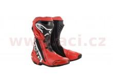 boty SUPERTECH R limitovaná edice Randy Mamola, ALPINESTARS (červené/černé/bílé)