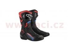 boty S-MX 6 HONDA kolekce, ALPINESTARS (černá/červená/modrá/bílá)
