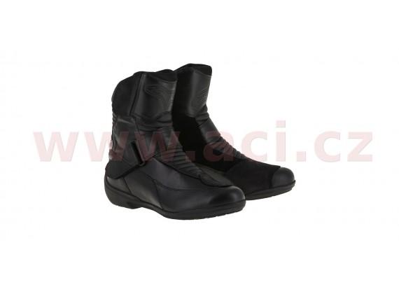 boty STELLA VALENCIA WATERPROOF, ALPINESTARS, dámské (černá)