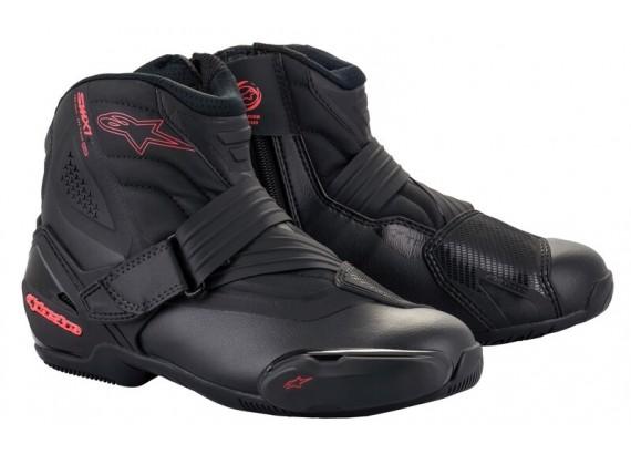 boty STELLA SMX-1 R 2021, ALPINESTARS, dámské (černá/růžová)