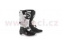 boty TECH 7 S 2021, ALPINESTARS, dětské (černá/bílá)