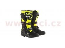 boty TECH 7 S 2021, ALPINESTARS, dětské (černá/žlutá fluo)