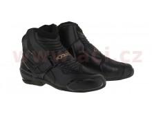 boty STELLA SMX-1 R, ALPINESTARS (černé/zlaté)
