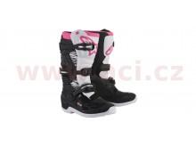 boty STELLA Tech 3 2021, ALPINESTARS (černé/bílé/růžové)