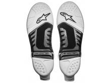 podrážky pro boty TECH 10 model 2019/2020, ALPINESTARS (černá/bílá, pár)
