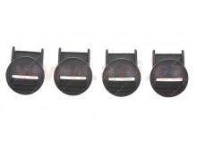 zámek přezky pro boty TECH7/3S a Toucan Gore-Tex, ALPINESTARS (černé, sada 4 ks)