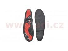 podrážky pro boty SMX 5/SMX 1, ALPINESTARS (černé/červené, pár)