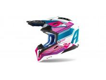 AVIATOR 3.0 Wave, AIROH - Itálie (růžová/chrom) 2021