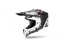 WRAAP Beast, AIROH - Itálie (matná černá/bílá) 2021