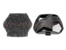kryt bradové ventilace pro přilby SUPERTECH S-M10 a S-M8, ALPINESTARS (černá, vč. uhlíkové