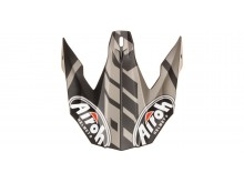 náhradní kšilt pro přilby TWIST GREAT, AIROH - Itálie (černá/šedá mat)