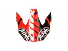 náhradní kšilt pro přilby TWIST GREAT, AIROH - Itálie (červená mat)