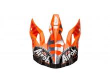 náhradní kšilt pro přilby AVIATOR 2.3 Novak, AIROH - Itálie (oranžová)