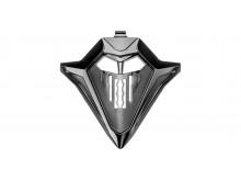 kryt bradové ventilace pro přilby COMMANDER, AIROH - Itálie (vel. L - 2XL, černá mat)