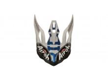 náhradní kšilt pro přilby AVIATOR 2.3 Novak, AIROH - Itálie (modrá)