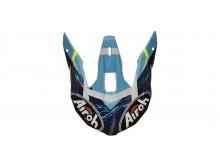 náhradní kšilt pro přilby WRAAP Street, AIROH - Itálie (azurová)