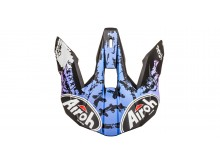 náhradní kšilt pro přilby WRAAP Smile, AIROH - Itálie (fialová)