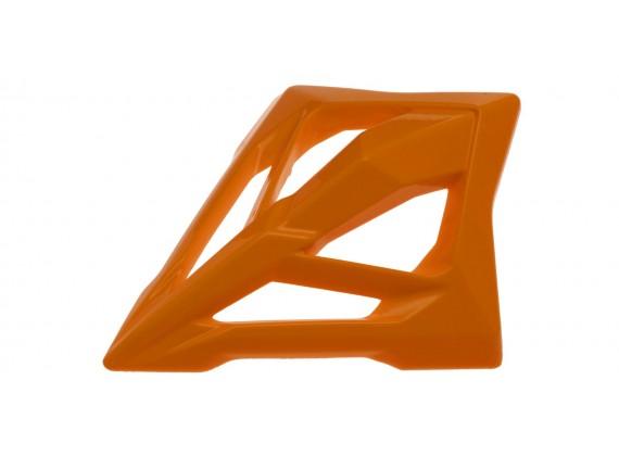 bradový chránič pro přilby AVIATOR 2.2/2.3, AIROH - Itálie (oranžová)