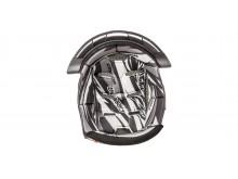 klobouk interieru pro přilby Cross Pro II, CASSIDA (černá/bílá/šedá)