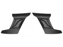 čelní kryty vrchní ventilace pro přilby Cyklon, CASSIDA - ČR (černá, pár)