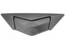 čelní kryt ventilace pro přilby Cyklon, CASSIDA - ČR (stříbrná titanium matná)
