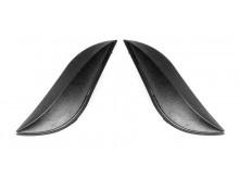 čelní kryty vrchní ventilace pro přilby Reflex, CASSIDA - ČR (černá matná, pár)