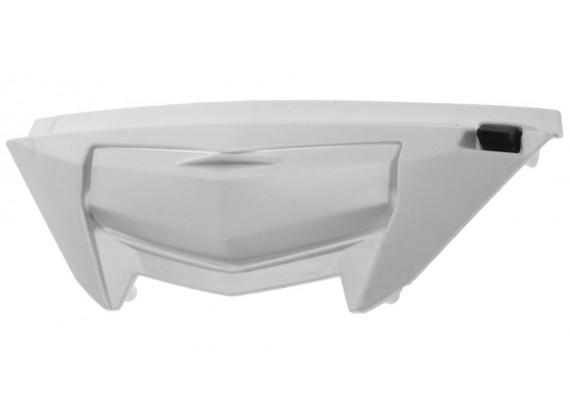 bradový kryt ventilace pro přilby ST 701, AIROH - Itálie (bílý)