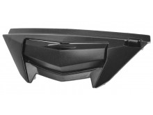 bradový kryt ventilace pro přilby ST 701, AIROH - Itálie (černý)