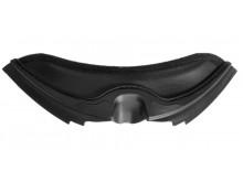 bradový kryt ventilace pro přilby REV, AIROH - Itálie (černý)