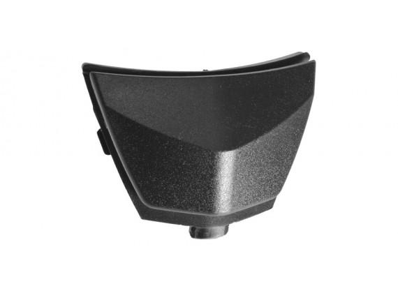 bradový kryt ventilace pro přilby RIDES, AIROH - Itálie (černý)