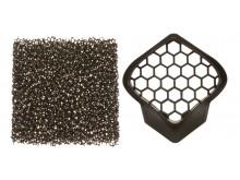 prachový filtr pro přilby AVIATOR 2.2/AVIATOR JUNIOR, AIROH - Itálie (uhlíkový)