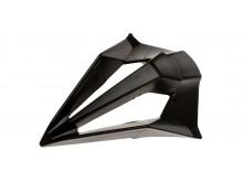 bradový chránič pro přilby TERMINATOR 2.1 S, AIROH - Itálie (černé)