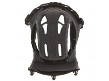 klobouk interiéru pro přilby SWITCH, AIROH - Itálie (černý)