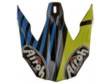 náhradní kšilt pro přilby TWIST STRANGE, AIROH - Itálie (modrá/žlutá/oranžová)
