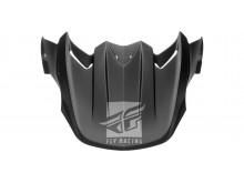 kšilt pro přilbu F2, FLY RACING - USA (černá mat)